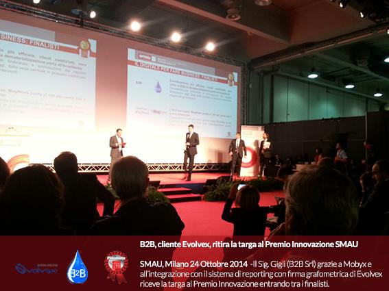App Rilevazione Presenze Mobyx: Case History SMAU Premio Innovazione a B2B