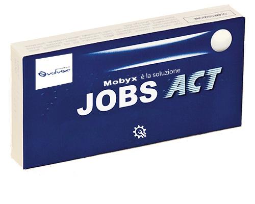 controllo a distanza del lavoratore: il Jobs Act scherzosamente rappresentato da una confezione di Moment Act
